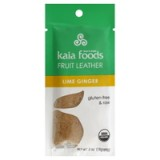 Kaia Lime Ginger Fruit Leather