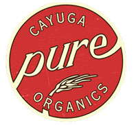 Cayuga Pure Organics Farmer Ground Corn Meal, 2 lb bags