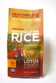 Lotus Foods Madagascar Pink Rice