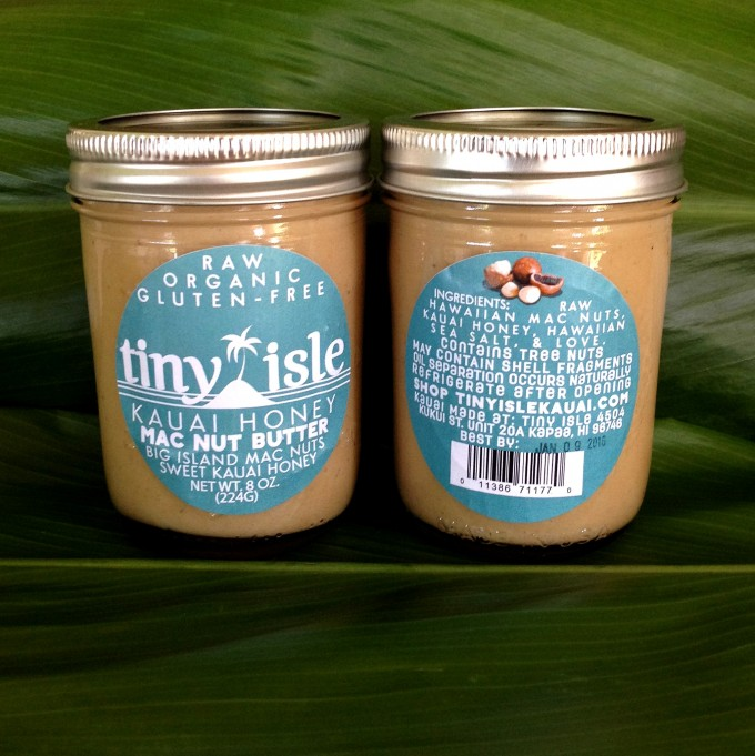 Tiny Isle Honey Macadamia Nut Butter