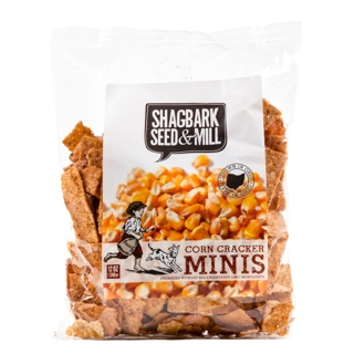 Shagbark Corn Cracker Chips Mini