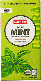 Alter Eco Organic Mint Dark Chocolate Bar
