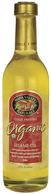 Napa Valley Naturals Organic Sesame Oil, Unrefined