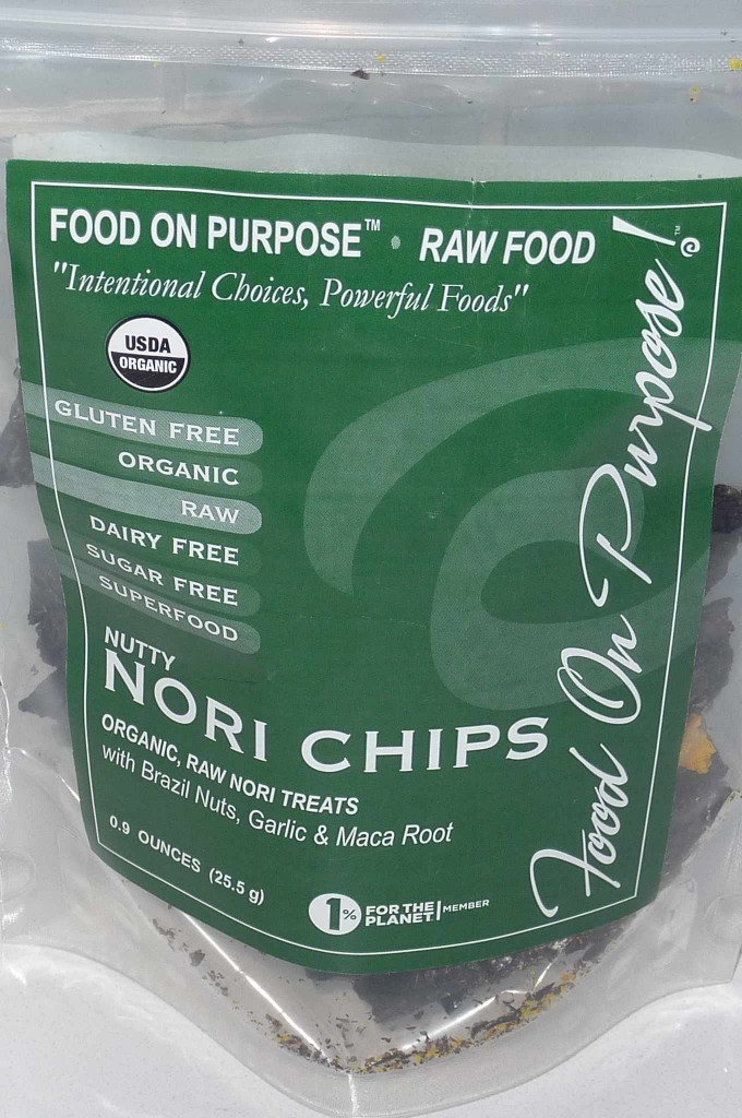 Food on Purpose Organic Raw Nori Chips