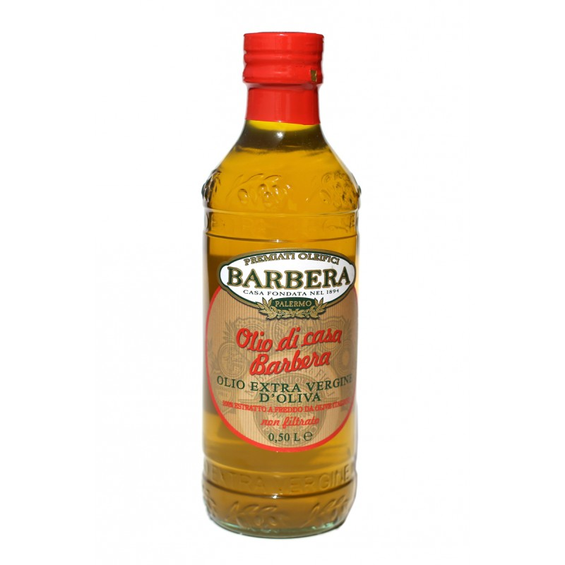 Barbera Siciliani Extra Virgin Olive Oil Olio de Casa Barbera