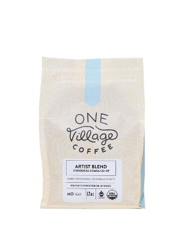 One Village Organic Artist Blend Coffee Beans 16 oz