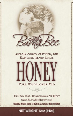 Barna Bee Wildflower Honey - 12 oz