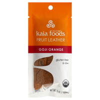 Kaia Gogi Orange Fruit Leather