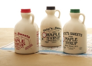 Pete's Sweets Maple Syrup 16 oz