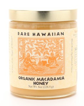 Rare Hawaiian Honey Company Organic Macadamia Nut Honey