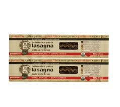 Pastariso Brown Rice Lasagna
