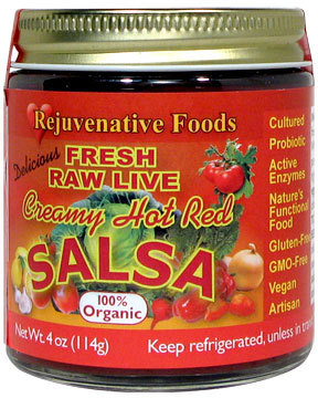 Rejuvenative Foods Live Red Salsa Fresh Cultured 15 oz