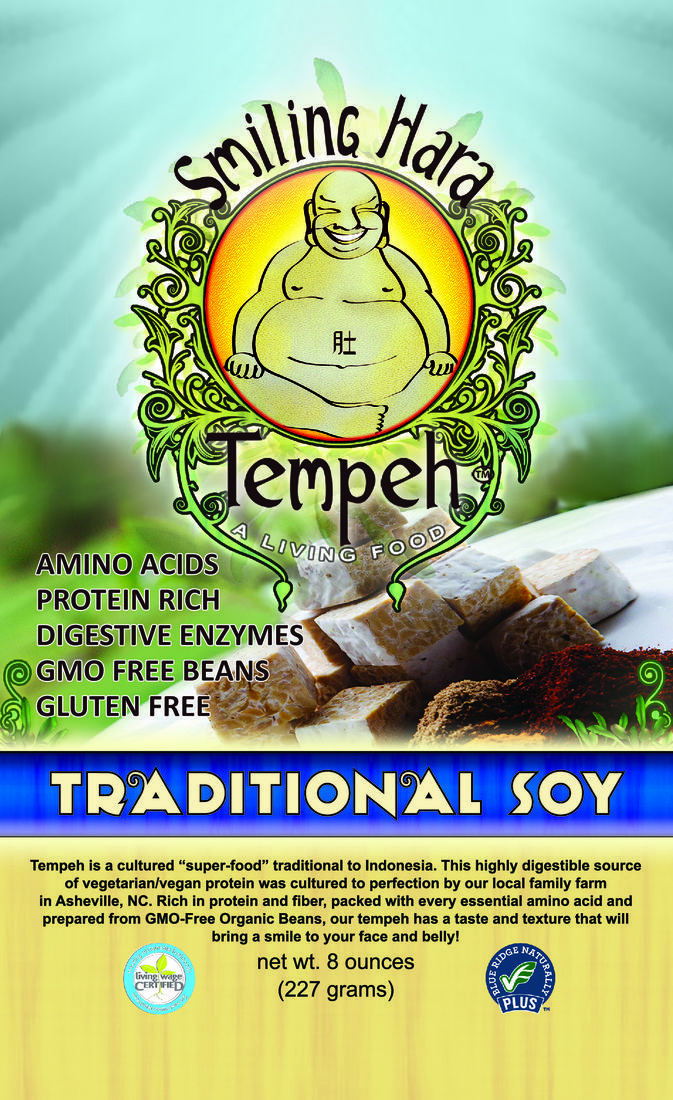 Smiling Hara Tempeh - Traditional Soy