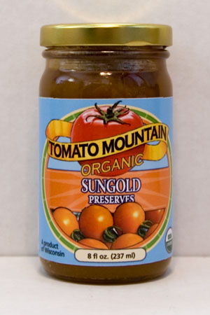 Tomato Mountain Farm Sungold Preserves