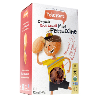 Tolerant Foods Red Lentil Mini Fettuccine