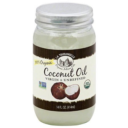 La Tourangelle Organic Coconut Oil, Virgin Unrefined