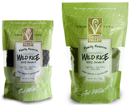 Goose Valley Organic Wild Rice