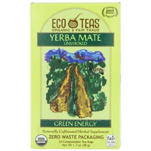 Eco Teas Organic Yerba Mate Tea 24 ct
