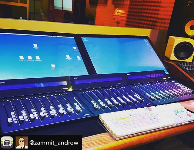 @zammit_andrew is on his way to perfection with this setup! |Repost from @zammit_andrew using @RepostRegramApp – Getting there…..#tonestudios #iconproaudio #studios #music