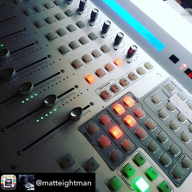 It's #humpday and the week is half way through. Have you been productive this week? Looks like @matteightman has! Check out this cool shot of his #QConPro! | Repost from @matteightman – #finetuning #cubase #musicproducer