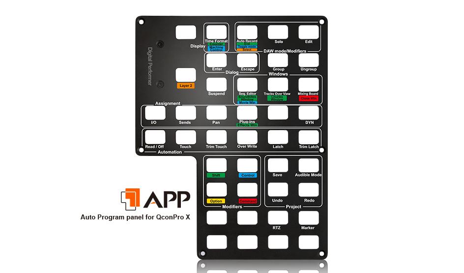 Controler DAW  Audiointerface Mixer Icon Qcon Pro MIDI Audio Controller