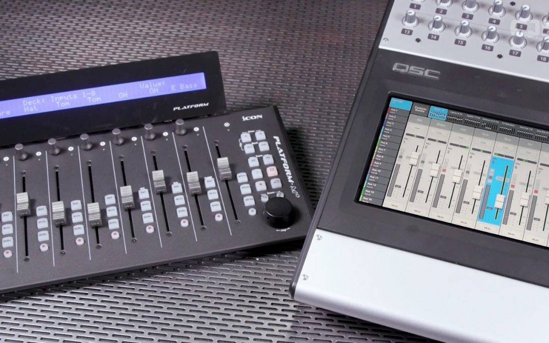 Platform M+ Now Integrates with QSC Touchmix 30 Pro v 2.0