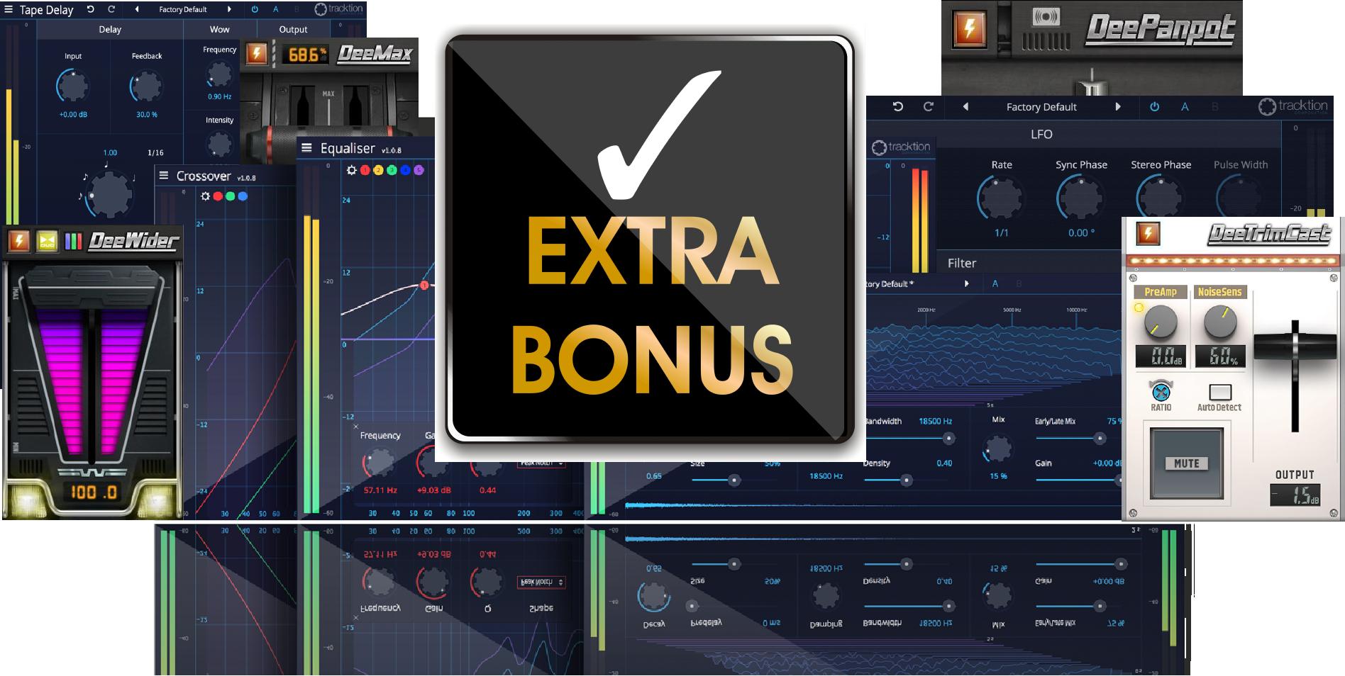 Bonus Plugins with ProDriver4