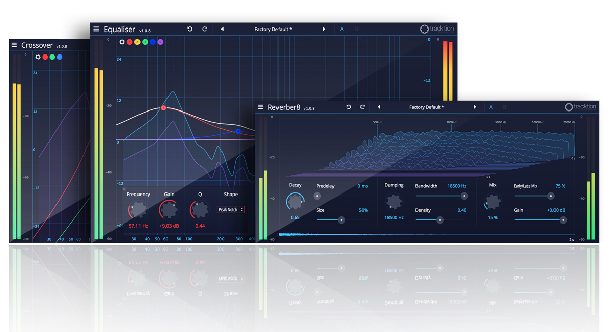 Traction DAW Essentials Collection Bundled with iCON Pro Audio ProDriver4