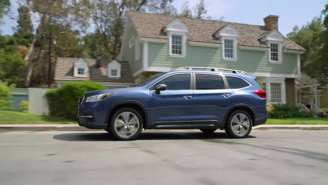 2019 Subaru Ascent Touring and Limited- Running Foootage