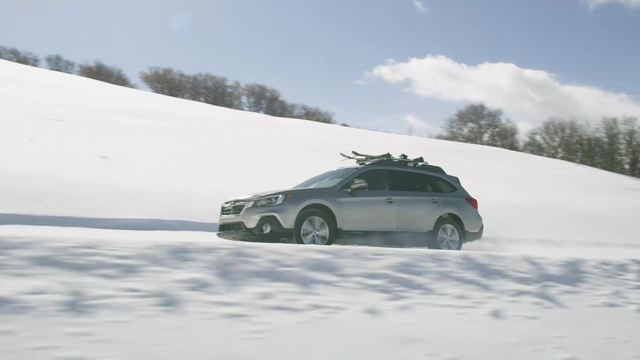 2018 Subaru Outback- Running Footage-In Snow