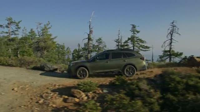 2020 Outback Driving Footage
