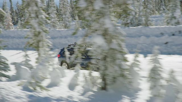 2020 Subaru Ascent Touring- Running Footage- Snow