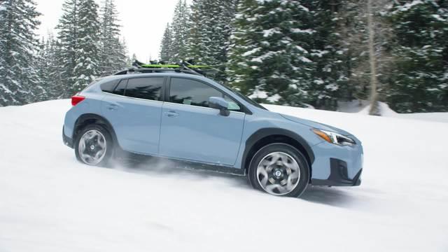 2020 Subaru Crosstrek Limited- Running Footage- Snow