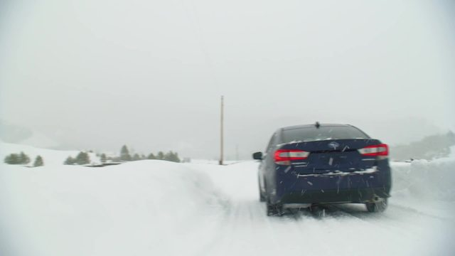 2020 Impreza Limited- Running Footage- Snow