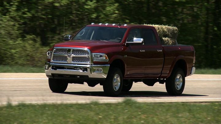 FCA US Media - New 2014 Ram Power Wagon—The Most Off-road