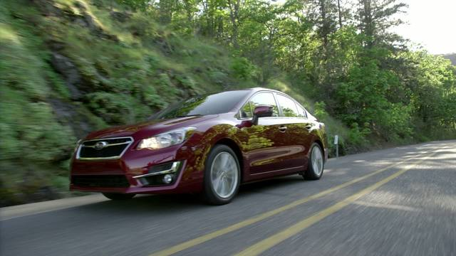 2015 Subaru Impreza Running footage