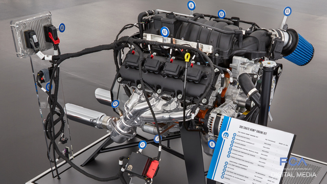 FCA US Media - Mopar Unlocks New Crate HEMI® Engine Kits at SEMA