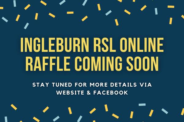 Online Raffle Coming Soon