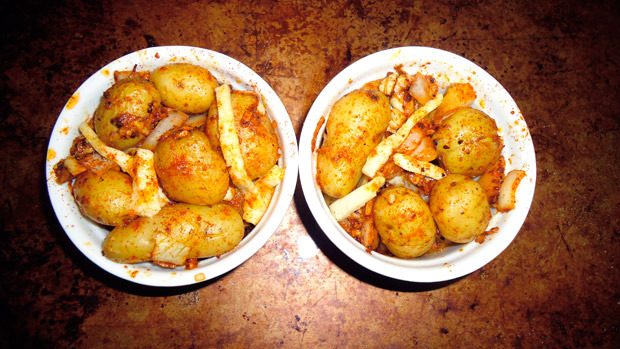 Teeny Potatoes for a Texas-sized appetite