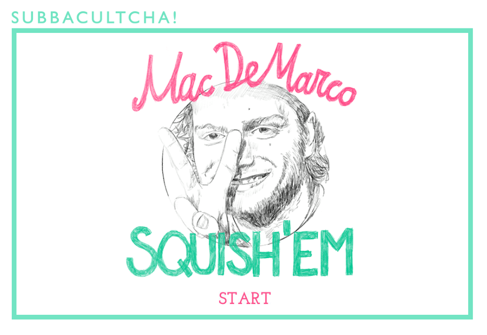 Mac DeMarco game