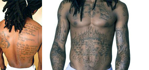 Lil Wayne Tattoos Baby For Art Impose Magazine