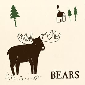 The Bears snowman 7-inch cover