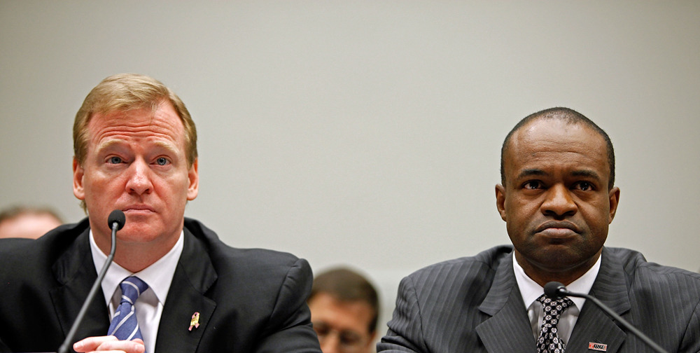 oger Goodell and DeMaurice Smith