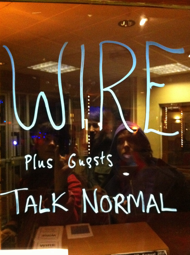 Wire and Talk Normal in Leeds