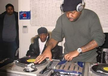 Lord Finesse on Diggin' On Blue