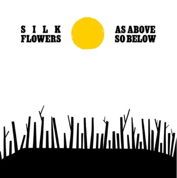 silk flowers as above so below album art