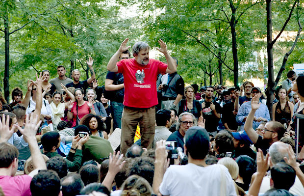 zizek at occupy wall street