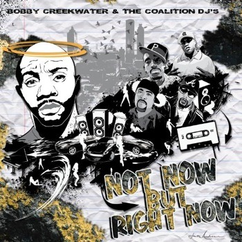 bobby creekwater not now but right now front cover