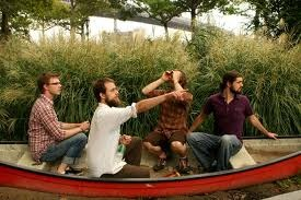 akron family in a boat