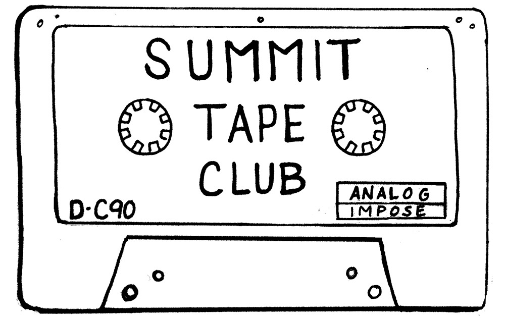 Summit Tape Club at Analog Cofee